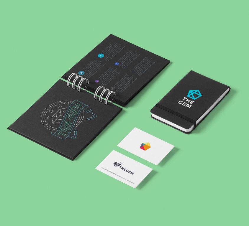 Brochure Design & Business Card