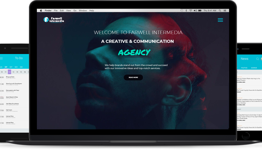 Website Design – Farwell Intermedia